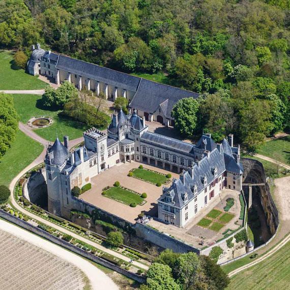 Château de Brézé. Crédit F. Leroy