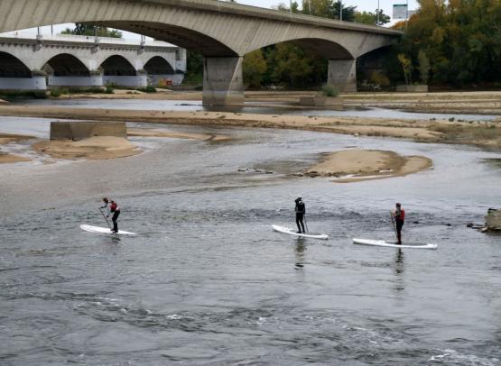 Paddle en Loire 1
