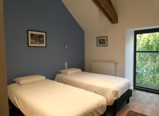 Gîte Cèdre et Charme - Chambre bleue 1