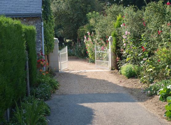 entrée portail