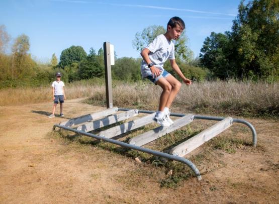 Camping Sites et Paysages les Saules-Cheverny-activite-parcours-fun