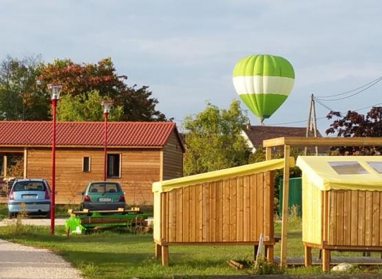 CopCamp et montgolfière