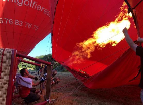 Pilote-Gonflage-Brûleur-Flamme