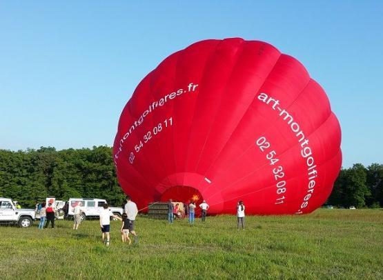 Gonflage-Ballon-Préparation