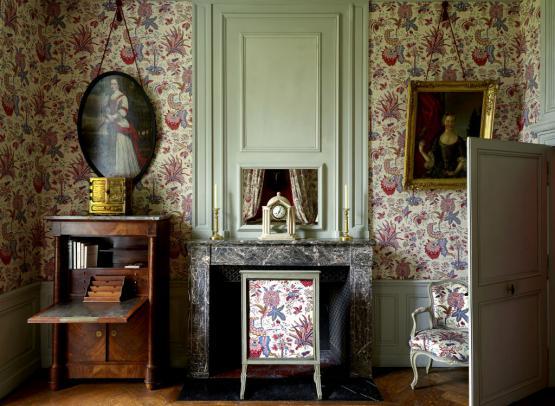Chateau de Montgeoffroy-chambre