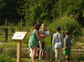 Parc pédagogique « De plumes & d'eau » - Crédit photo FDC41