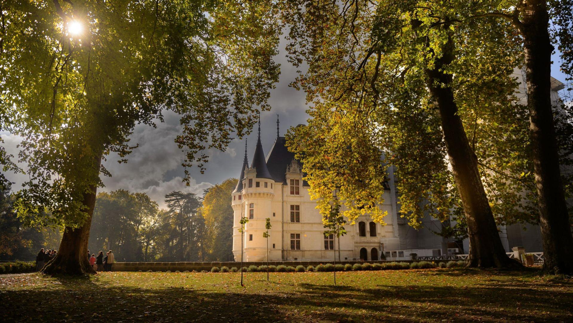 SCHLOSS AZAY-LE-RIDEAU, Das Loiretal, ein Ausflug nach Frankreich