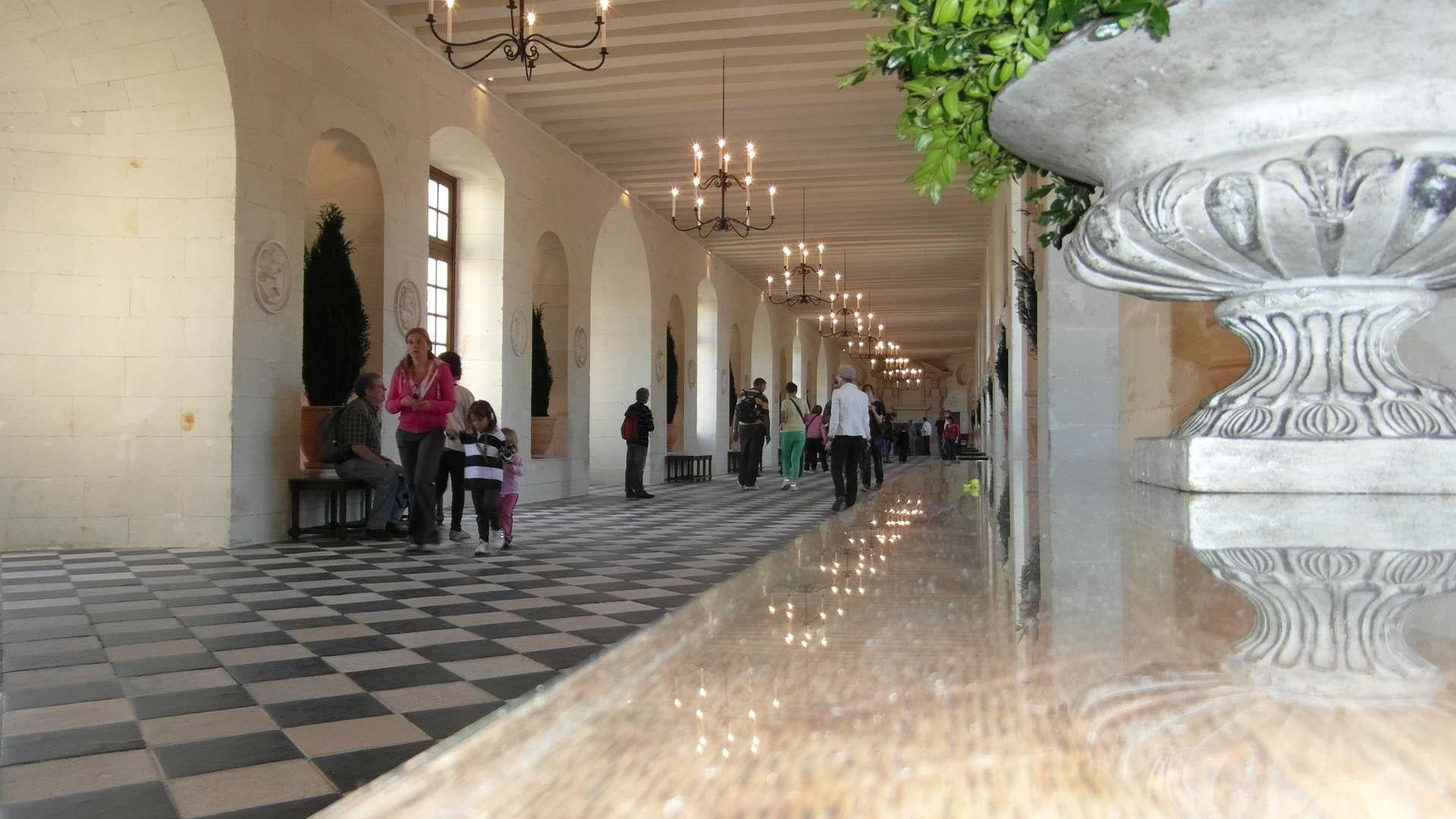 SCHLOSS CHENONCEAU, Das Loiretal, ein Ausflug nach Frankreich