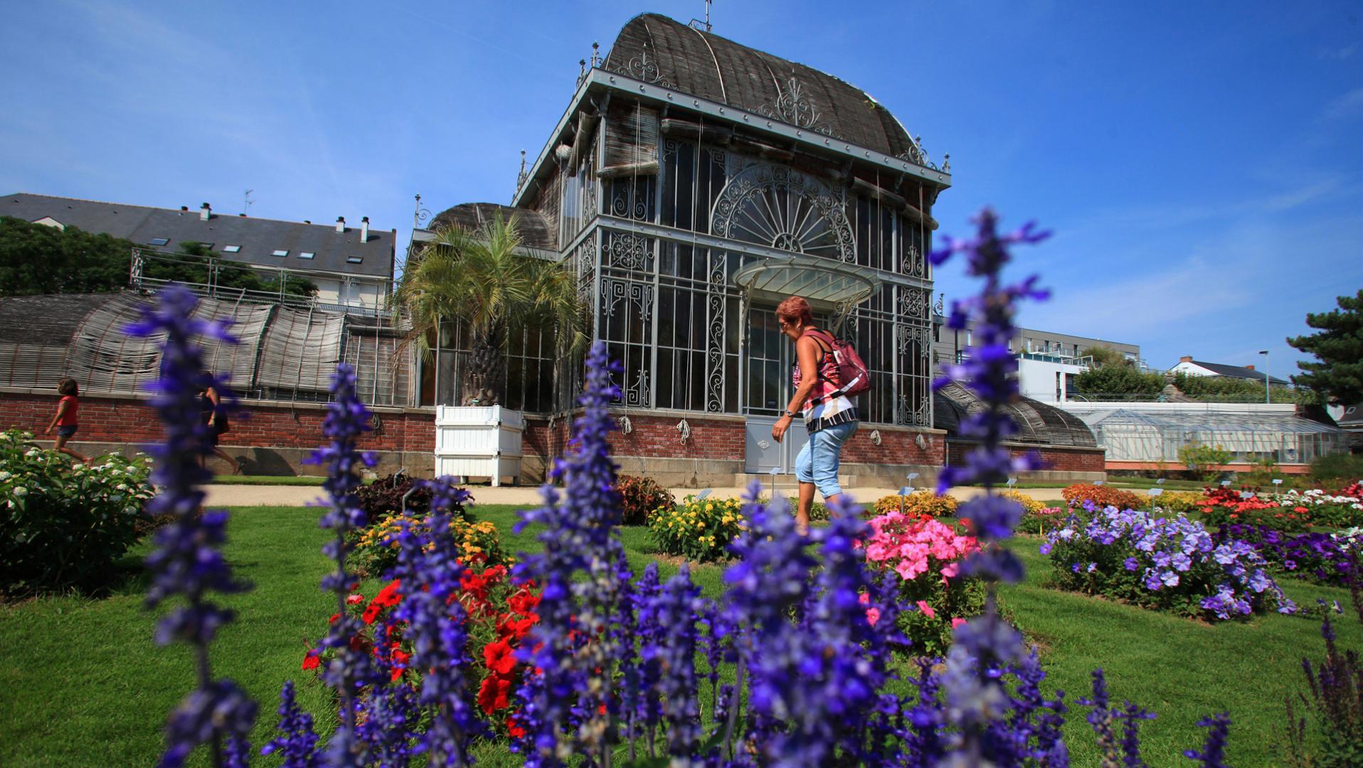 Der Jardin des Plantes in Nantes, Das Loiretal, ein Ausflug ...